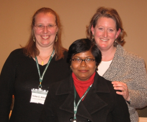 Heike Alberts, Madhuri Sharma, and Heather Smith